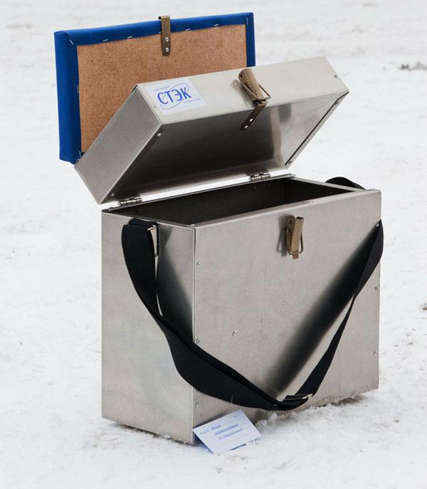 рыболовный ящик из алюминия своими руками