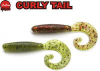 Съедобный твистер Aiko Curly Tail-2F