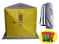 Палатка зимняя куб Helios