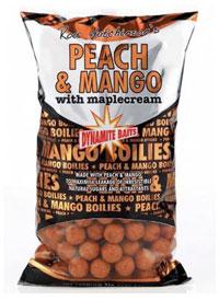 Бойлы Dynamite Baits Peach & Mango тонущие